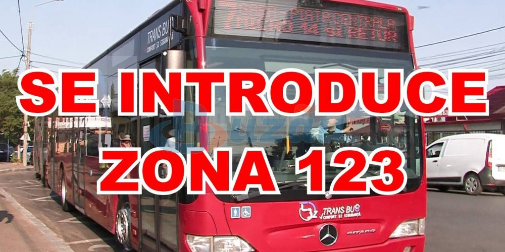 Trans Bus: Se introduce zona 123. Vezi ce traseu are!